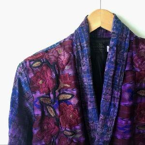 Vintage Guatemalan Embroidered Blazer